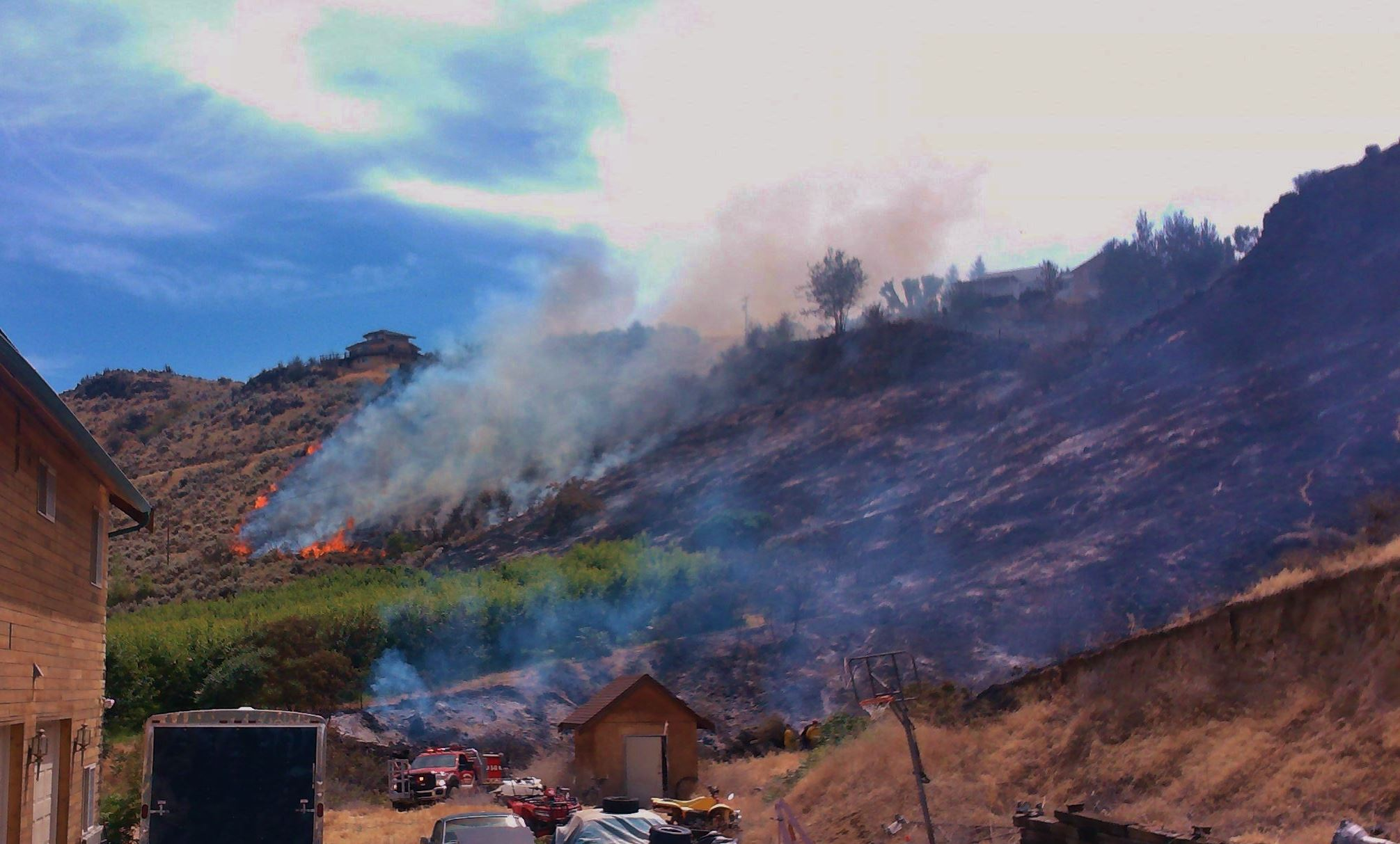 Naches Heights Fire, June 2015